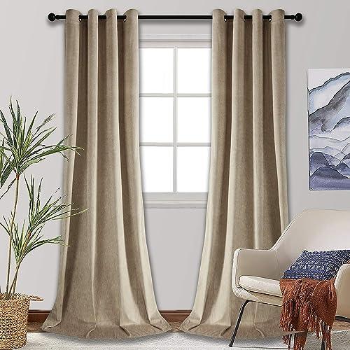 SMILETIME Blackout Velvet Curtain
