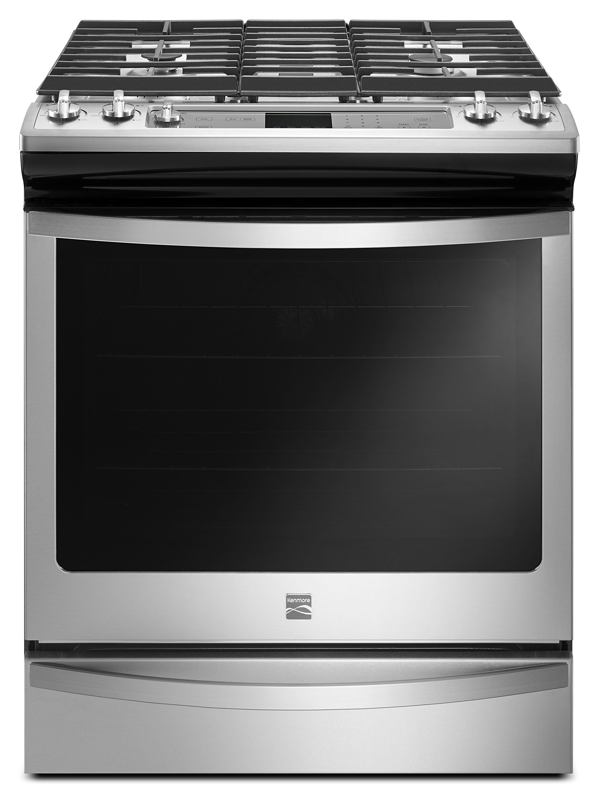 Kenmore 75123 5.8 cu. ft. Gas Range in Stainless Steel, includes delivery and hookup (Available in select cities only)