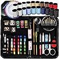 ARTIKA Sewing KIT, Over 130 DIY Premium Sewing Supplies, Mini Sewing kit, 38 Spools of Thread - 20 Most Useful Colors & 18 Mu