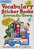 Vocabulary Sticker Books: Around Town