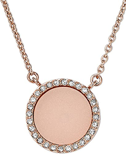 Michael Kors Women S Rose Gold Necklace Mkj4330791 Amazon Co Uk Jewellery
