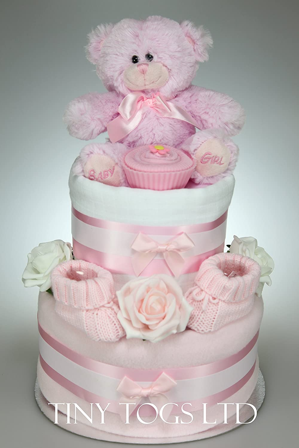 Baby Girl Nappy Cakes Uk