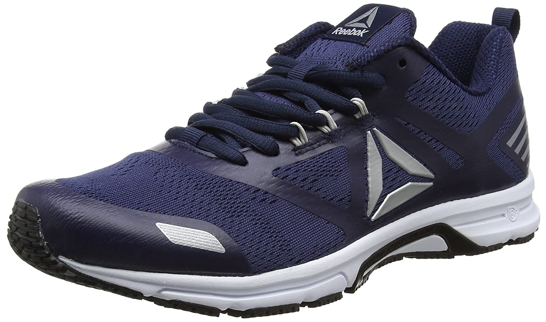 Bleu (Collegiate Navy blanc Pewter) Reebok Ahary Runner, Chaussures de Running Homme 41 EU