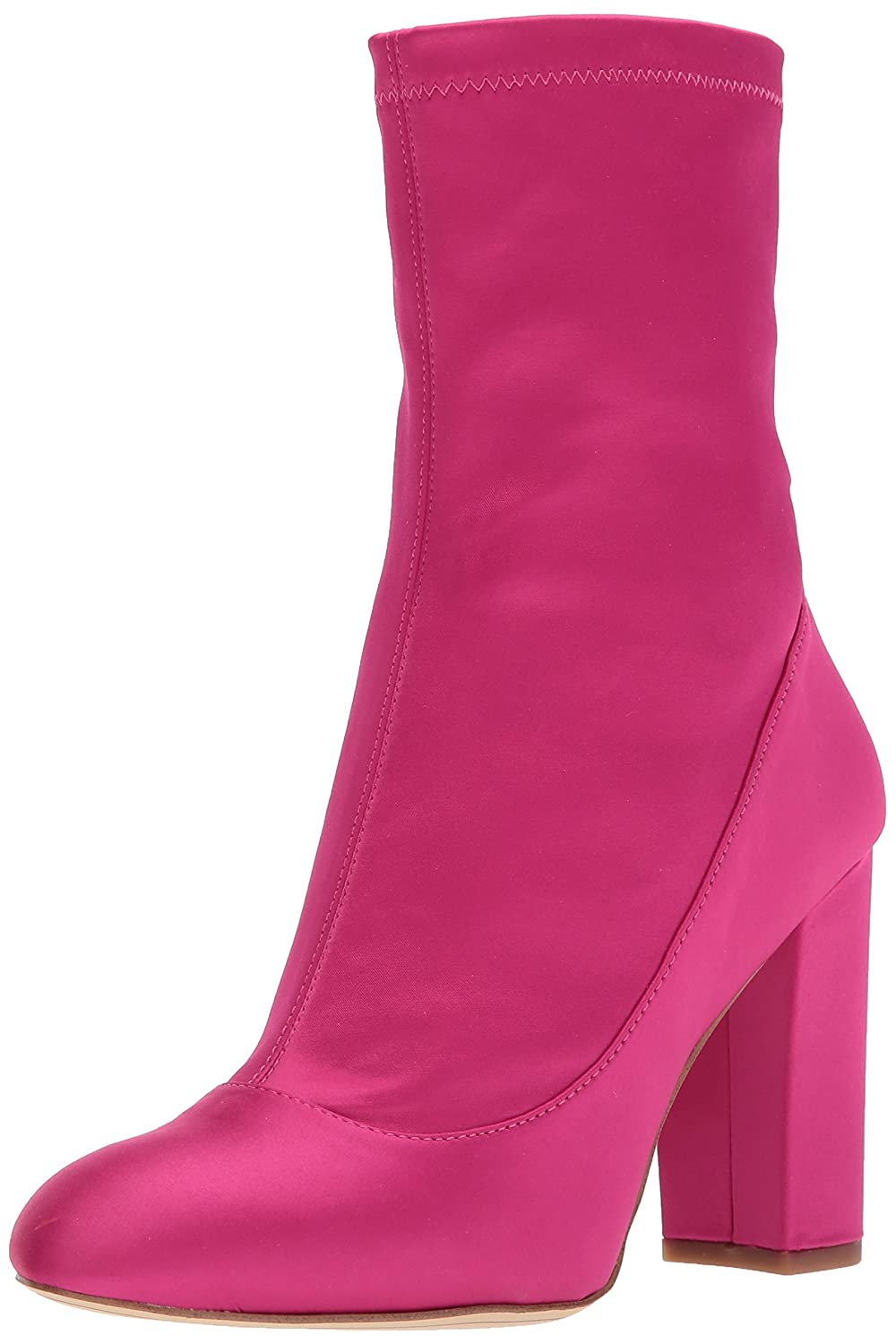 Sam Edelman Women's Calexa Fashion Boot B06ZXYC88D 6.5 B(M) US|Berry Crush Satin Stretch