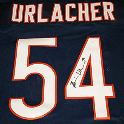 new style f24d9 f1ab6 Signed Brian Urlacher Jersey - Witness Size Large - JSA ...