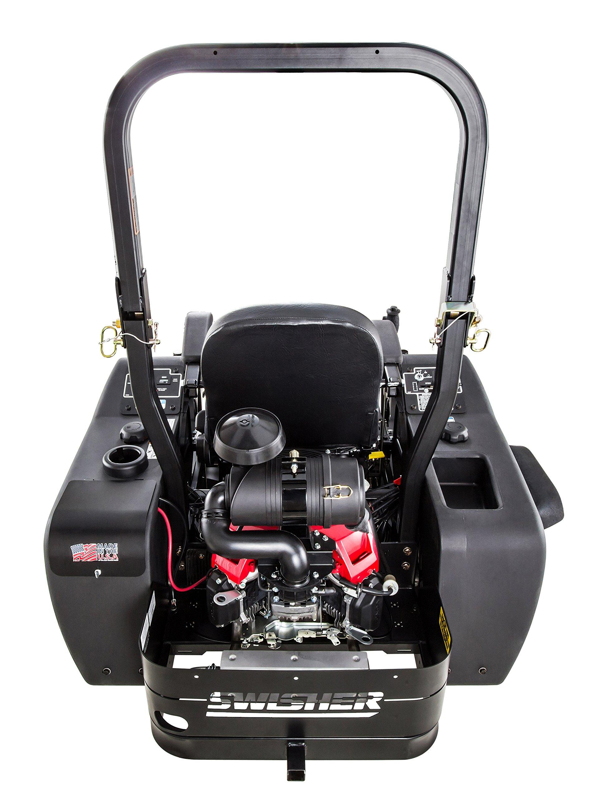 Swisher Z21554CPHO 21.5HP Reponse Gen 2 Honda Ztr Commercial Pro, Black, 54'' by Swisher (Image #7)