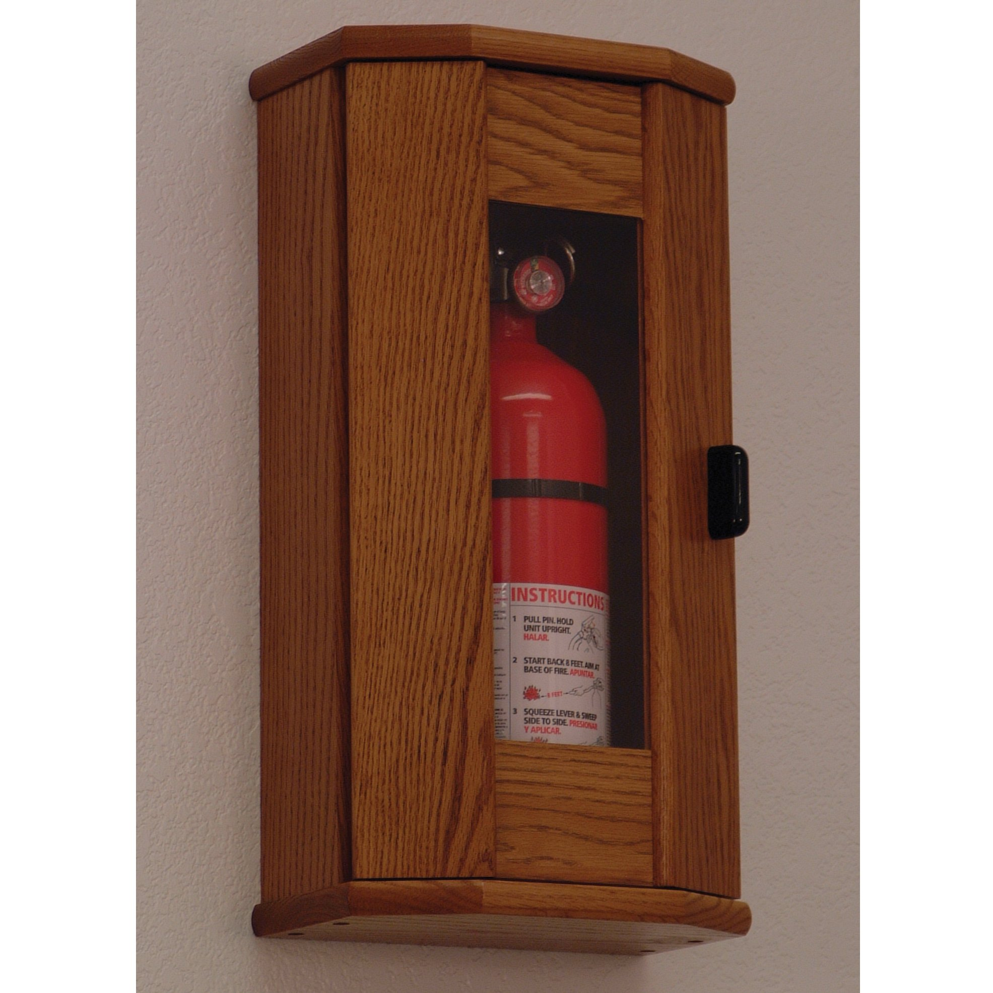 FixtureDisplays Fire Extinguisher Cabinet - 5 lb. capacity 104209