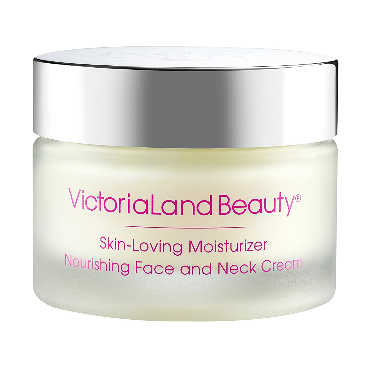 VictoriaLand Beauty Nourishing Face and Neck Cream - Skin-Loving Moisturizer (1.70 oz)