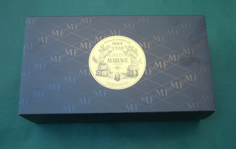 Mariage Frères - WORLD BREAKFAST TEA - 3 Teas gift set - EACH: 3.52oz / 100gr canister / tin