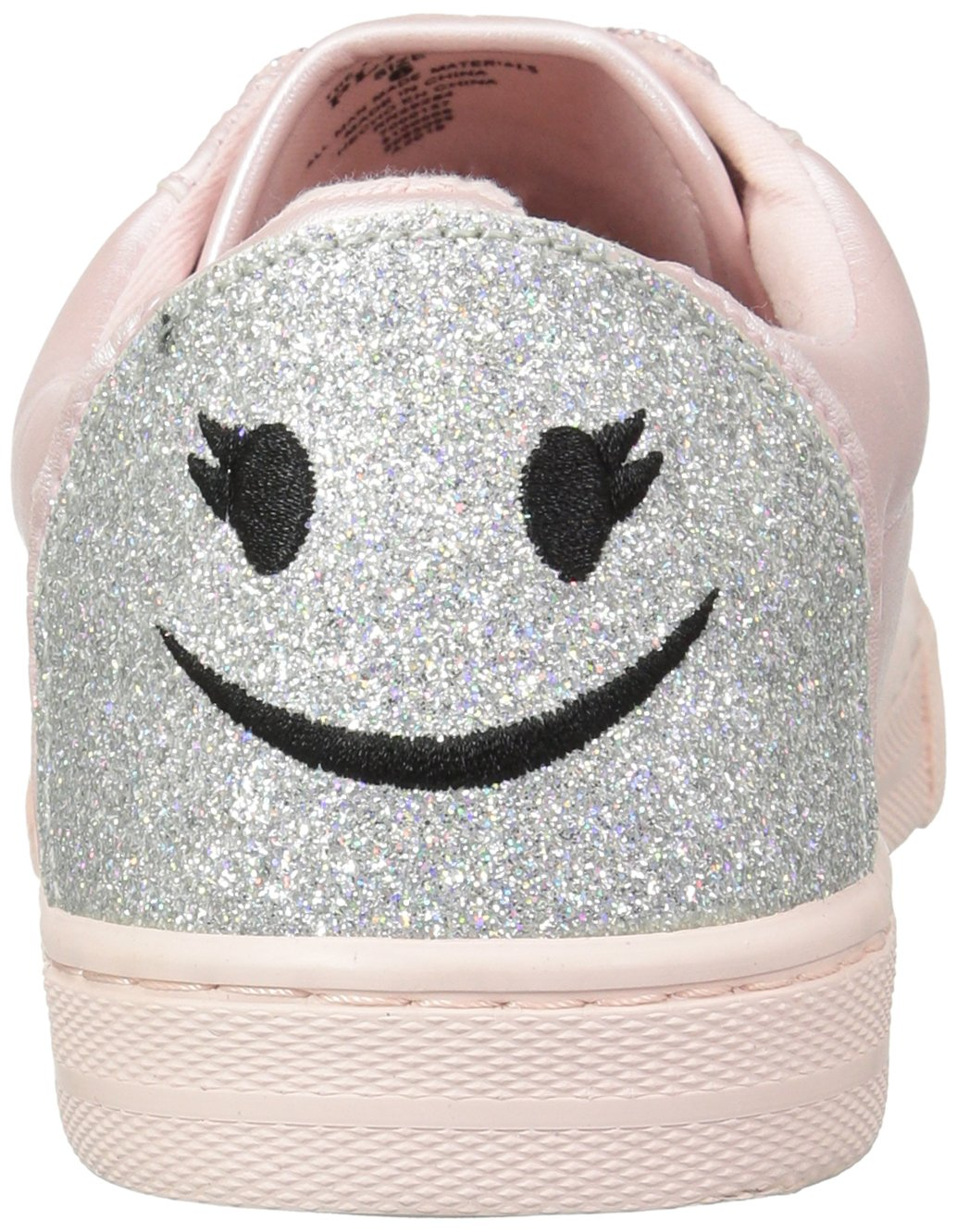 The Children's Place Girls' BG Emoji Sneaker, Pink, Youth 4 Medium US Big Kid by The Children's Place (Image #2)