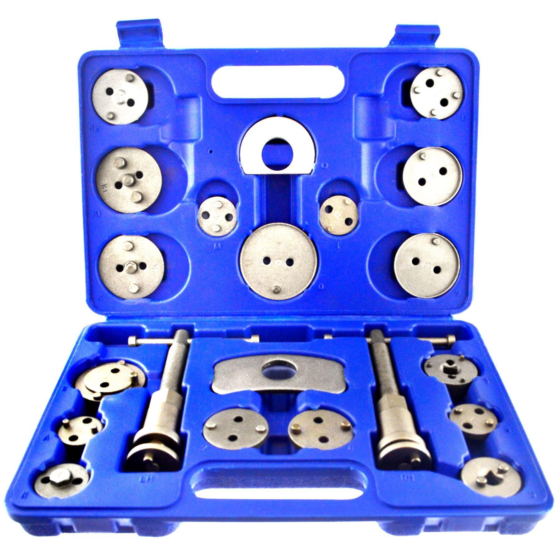 AB Tools-US Pro 21pc Left and Right Hand Brake Calliper Piston Wind Back Tool Kit AU019 by AB Tools-US Pro (Image #1)