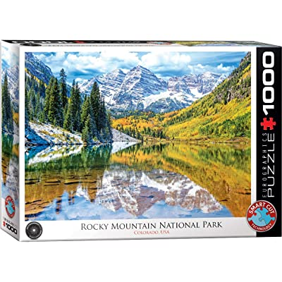"EuroGraphics Rocky Mountain National Park 1000Piece Puzzle, 19.25"" x 26.5"": Toys & Games"