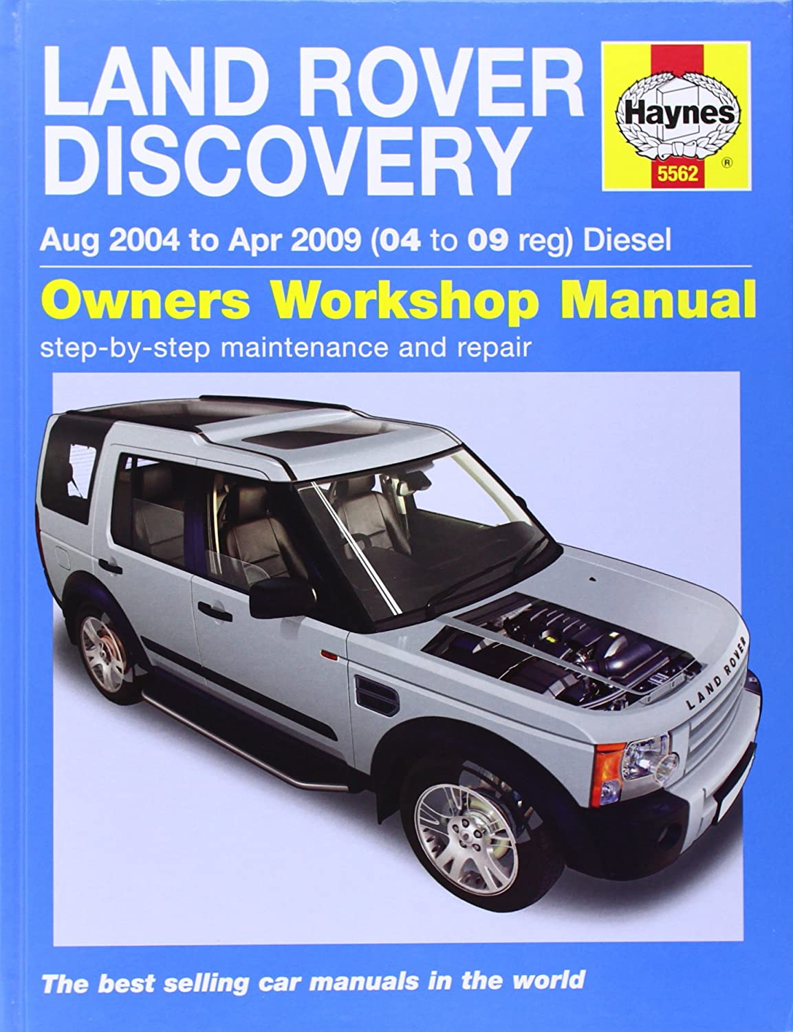 Land Rover Discovery Diesel Service and Repair Manual: 04-09 (Haynes Service  and Repair Manuals): Martynn Randall: Amazon.co.uk: Car & Motorbike