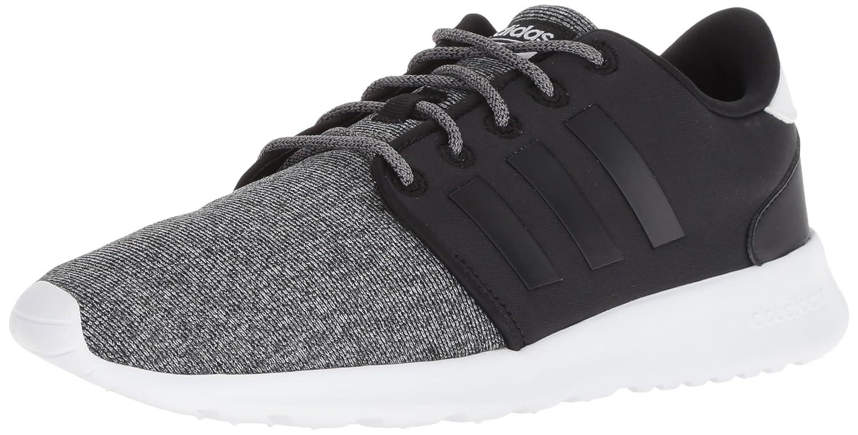 adidas Women's Cf Qt Racer Running Shoe B077X9VQDY 9.5 B(M) US|Black/Black/Black