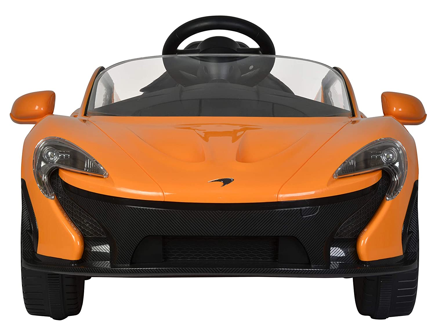 Ricco McLaren P1 Licenced 12V 7A Battery Powered Kids Electric Ride On Toy Car Orange Model: 672R