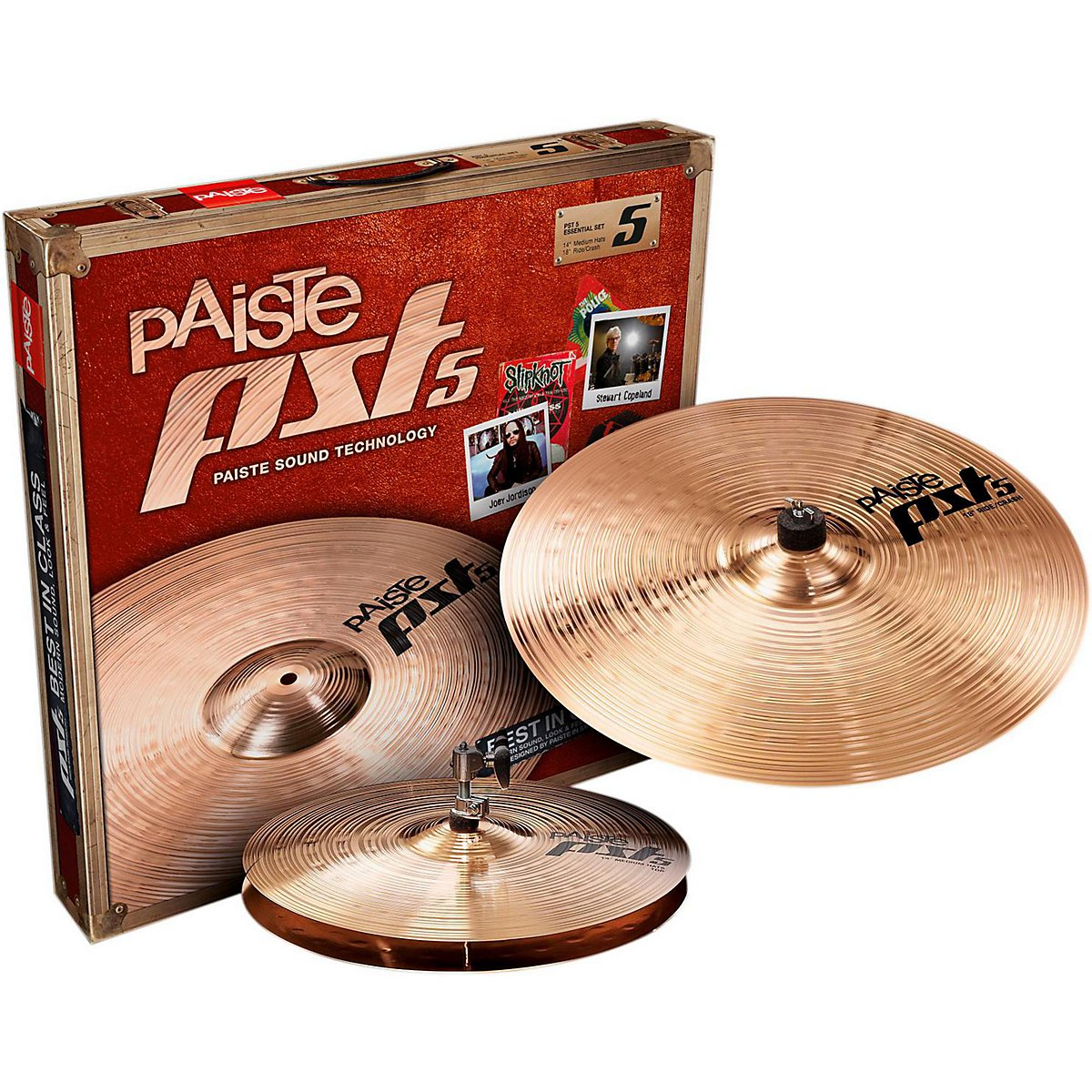 Paiste PST 5 Essential Set 14/18 in. by Paiste