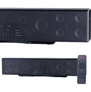 Auvisio – Altavoz: 6 Canales de Sonido 3D Bar, Sonido Envolvente 5.1, Bluetooth