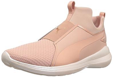 PUMA Women s Rebel Mid WNS En Pointe Sneaker 05db2aa0b