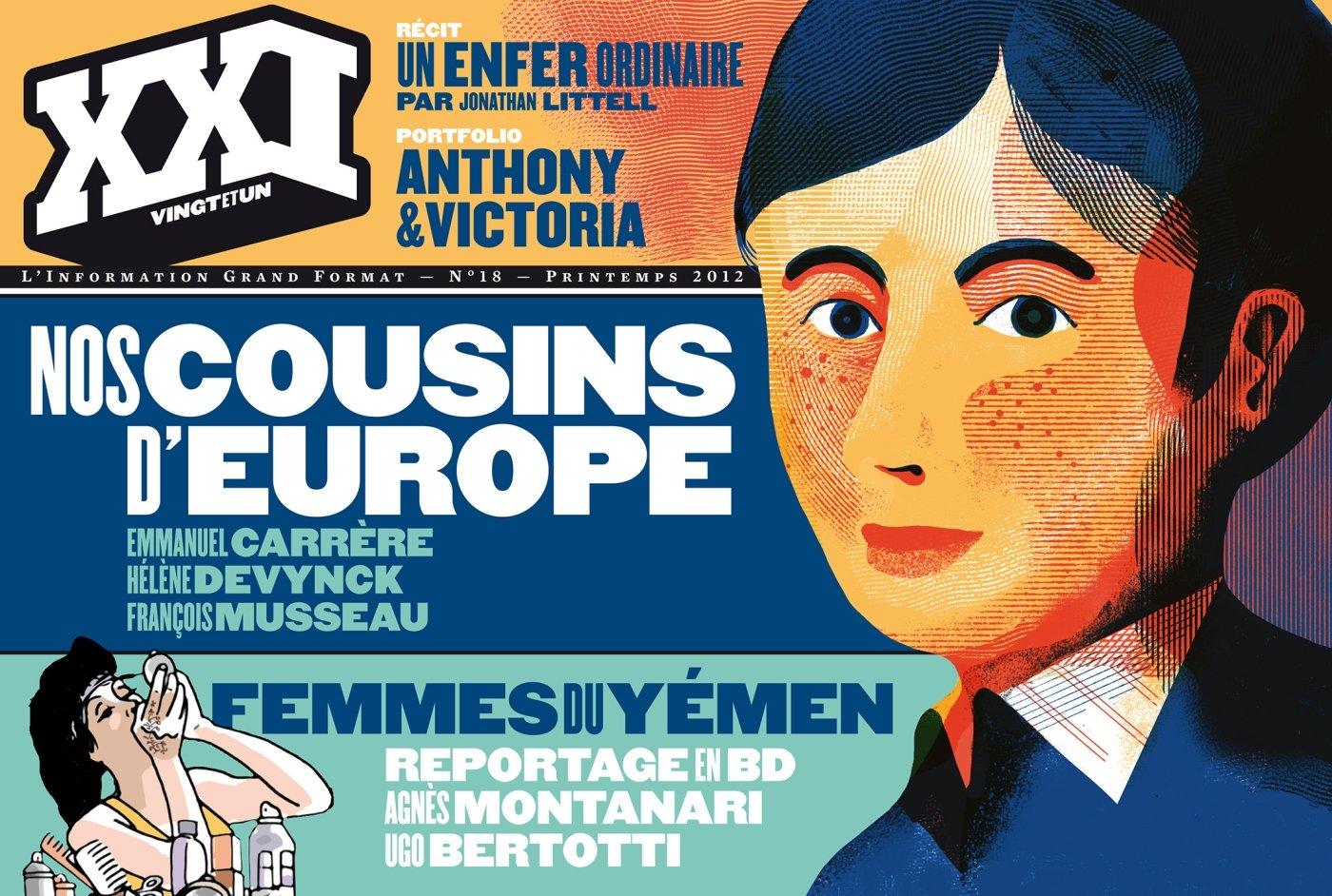 XXI N18 NOS COUSINS D EUROPE (QUA.XXI): Amazon.es: Collectif: Libros en  idiomas extranjeros