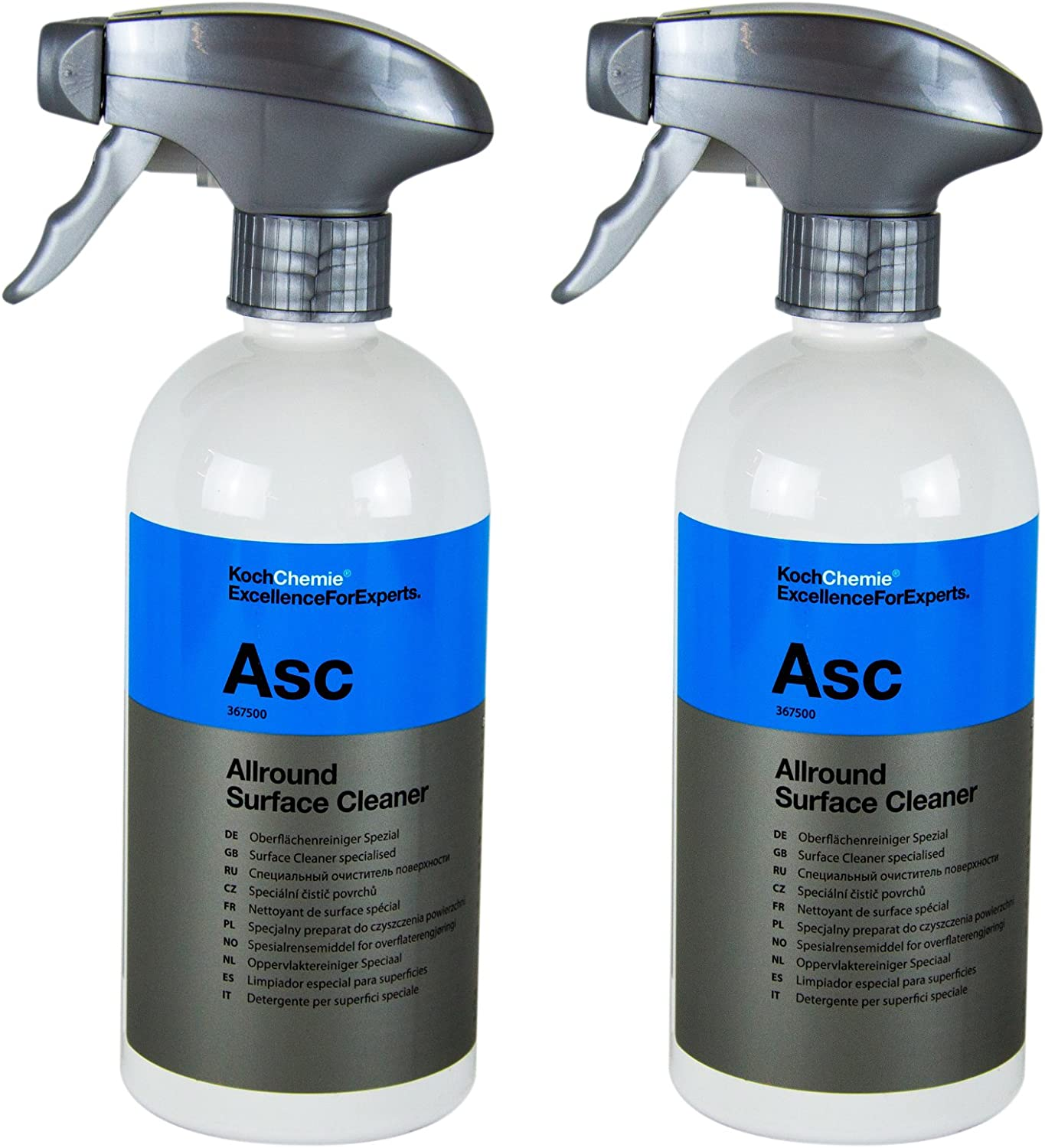 Koch Chemie 2 X Asc Allround Surface Cleaner Special Surface Cleaner 500 Ml Auto