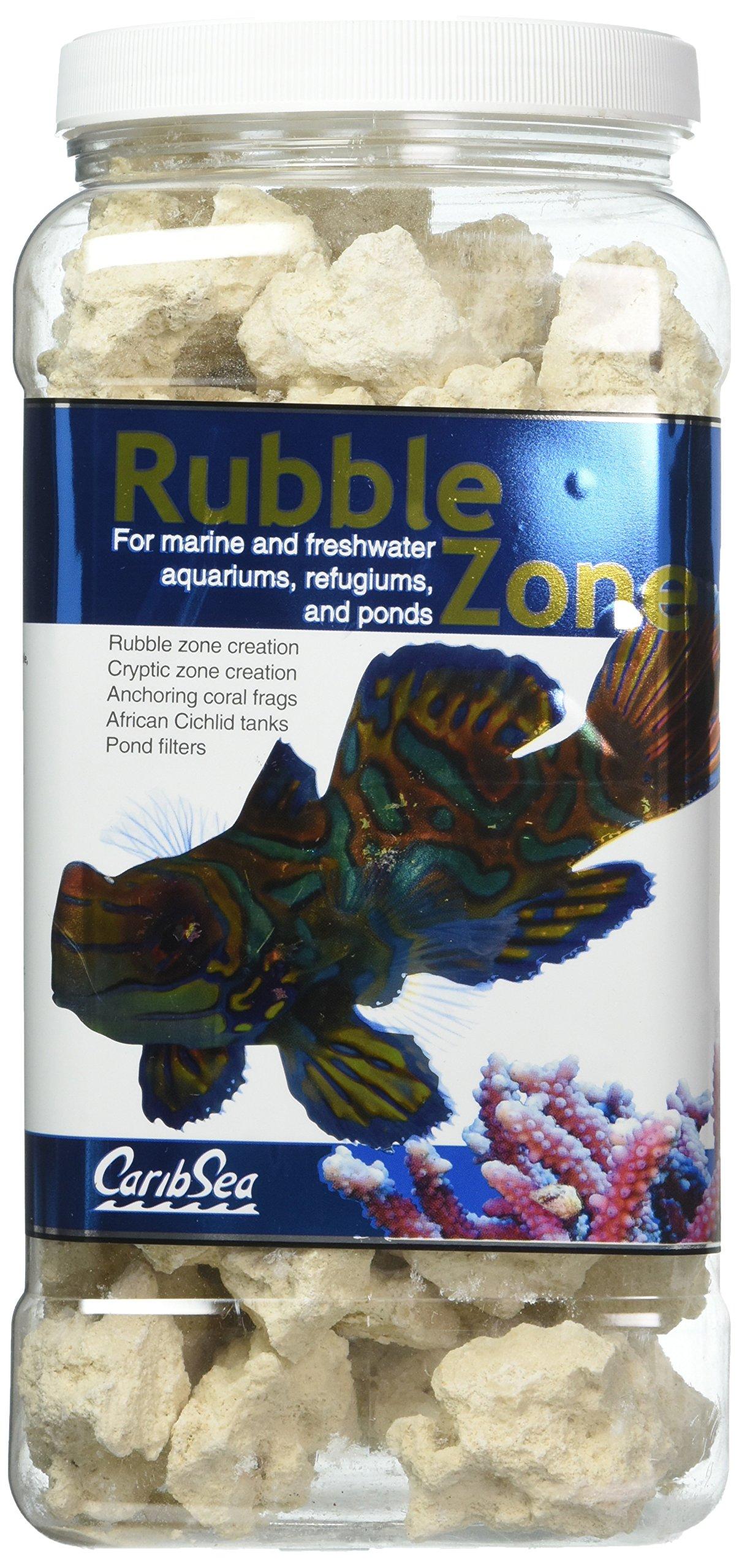 Carib Sea Aquatics Rubble Zone, 6 lb/1 Gallon by Carib Sea
