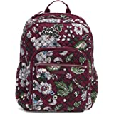 Vera Bradley womens Iconic Campus Backpack, Signature Cotton