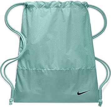 Nike Ba5759 Bolsa de Cuerdas para el Gimnasio, 20 cm, Teal Tint/Teal Tint/Black: Amazon.es: Equipaje