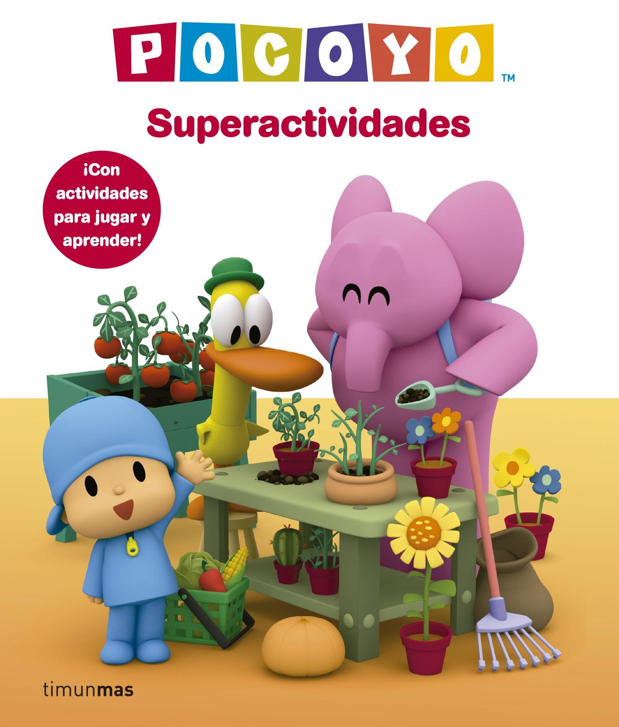 Pocoyó Superactividades (Cuentos y actividades): Amazon.es ...