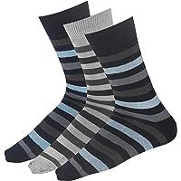 Blacksmith COTTON FORMAL SOCKS FOR MEN IN ASSORTED COLORS (PACK OF 3) - Stripes Socks