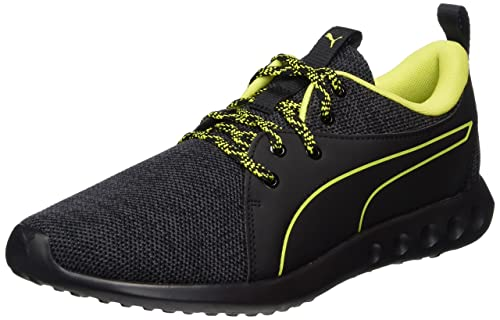 d447c17cbd6dd5 Puma Men s Carson 2 Terrain Black-Quiet Shade-Nrgy Yellow Running Shoes - 8