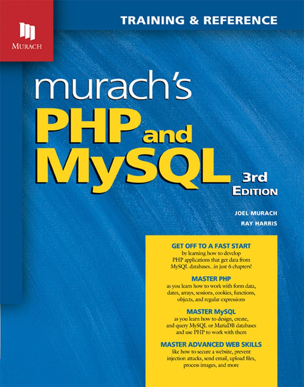 Murach's PHP and MySQL (3rd Edition) by Mike Murach & Associates