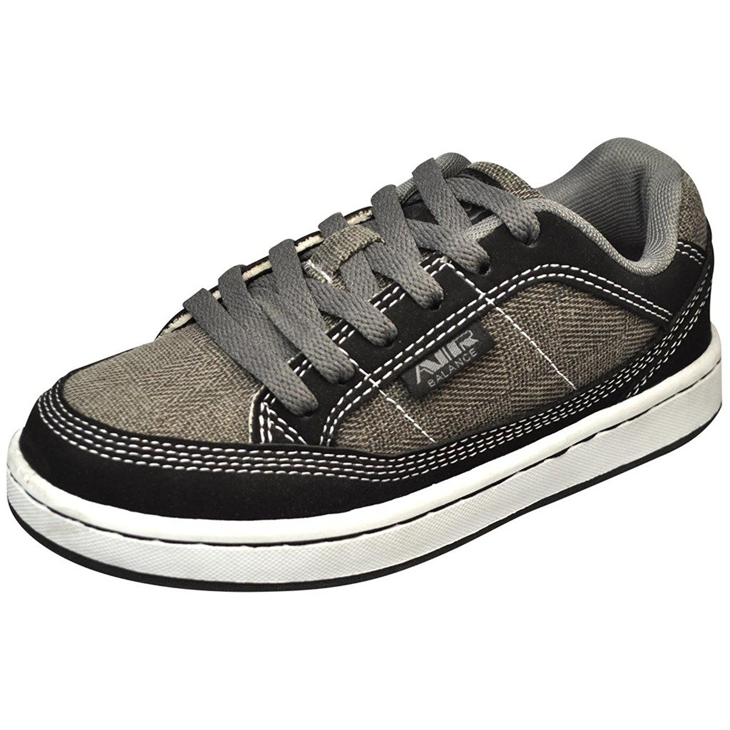 Big Kid Air Balance Boys Casual Sneakers-Black//Grey