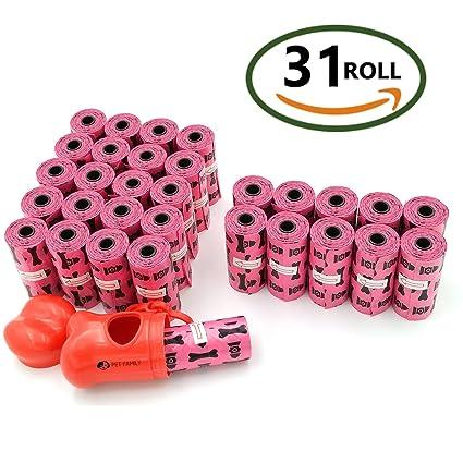 Bolsas perro,bolsas caca perro, SURDOCA [31 rollos=465 conteos + 1. Pasa el ratón por encima de ...
