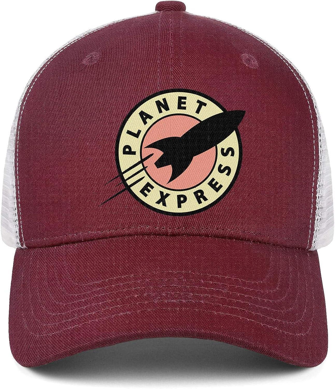 RivasPsm Planet-Express-Logo-Clipart-Planet-Express-Ship-Bender Adjustable Baseball Cap Snapback Unstructured Dad Hat