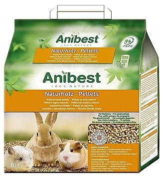 30 Liter Anibest Kleintiereinstreu Naturholz Pellets