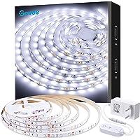 Govee Tira LED Blanco Frío 5m, Luces LED 6500K, Luces Kits Flexible para Armario, Dormitorio, Muebles, Cocina