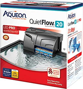 Aqueon QuietFlow LED PRO 20 power filter