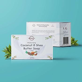 O Naturals 3 Piece Moisturizing Organic Bar Soaps