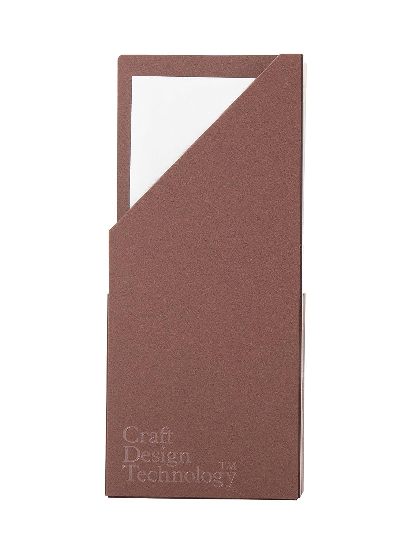 CDT Kurafutodezaintekunoroji Brief-Set, Kastanienbraun, 10 mm breit, liniert, Haph3-028Dbr[Parallelimportierung aus Japan]