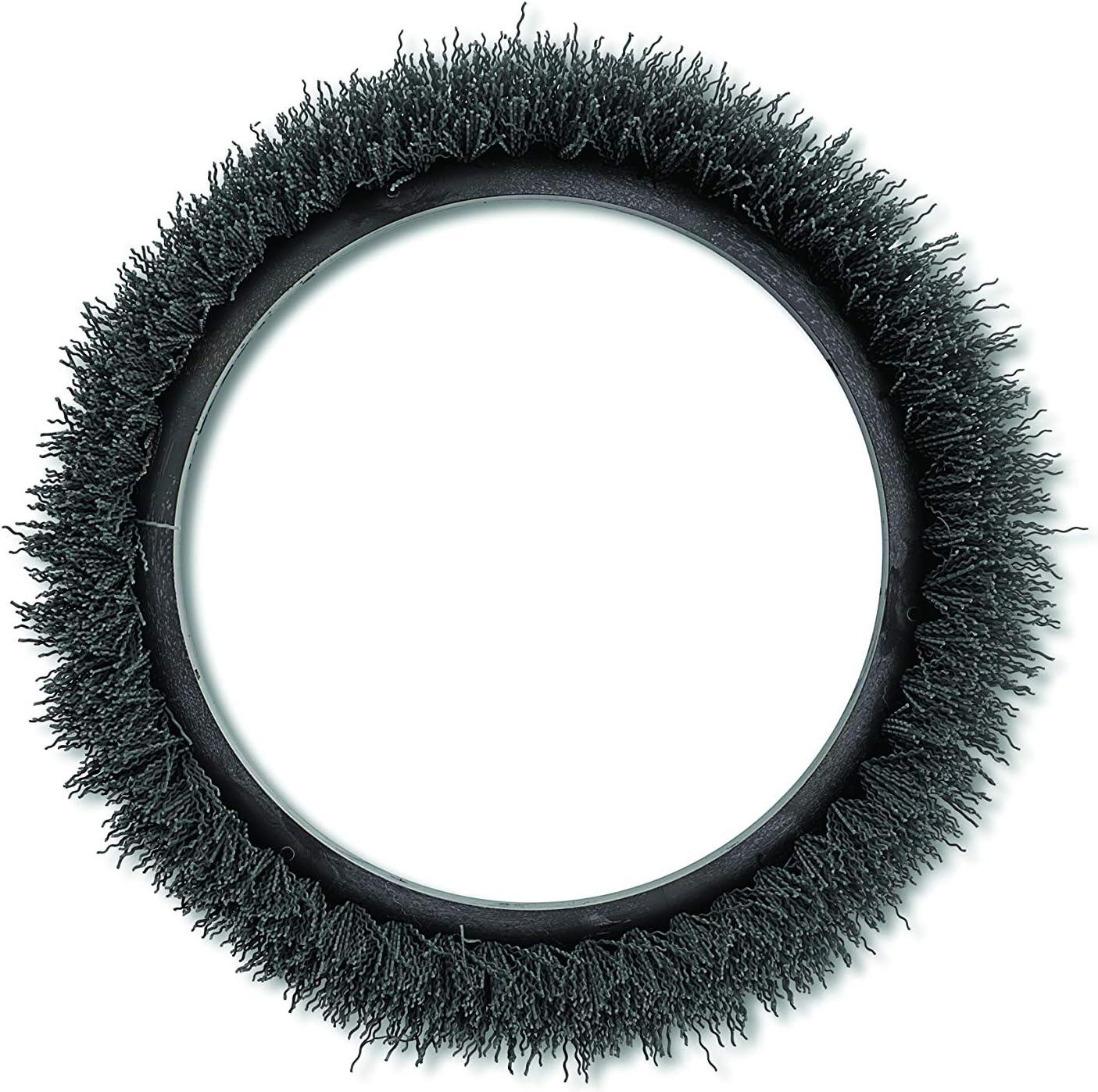 """Oreck Commercial 237049 Nylon Carpet Shampoo Orbiter Brush, 12"""" Diameter, 0.012"""" Bristle Diameter, Black, For ORB550MC Orbiter Floor Machine"""