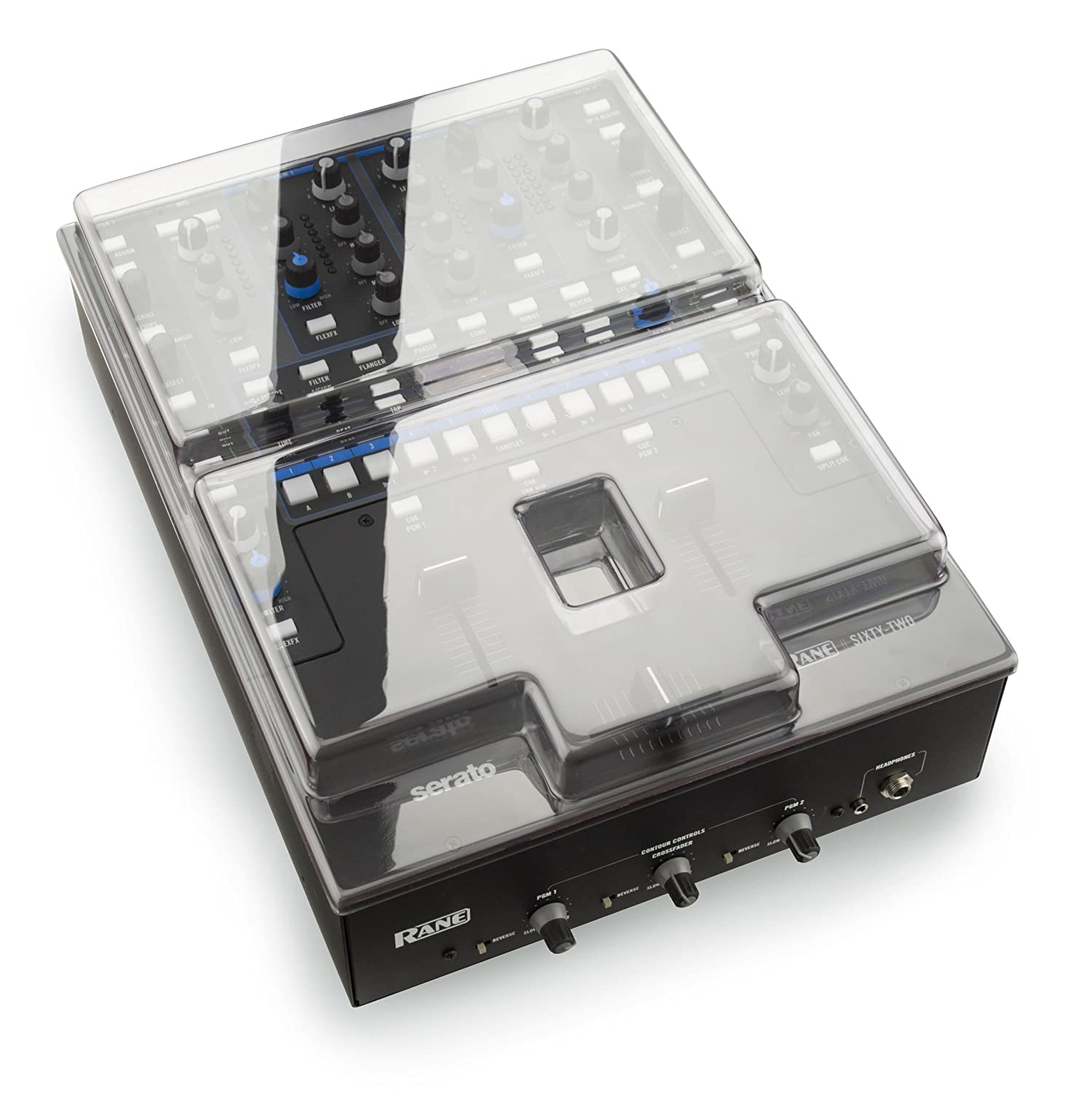 Decksaver DS-PC-RANE62 DJ Mixer Cover