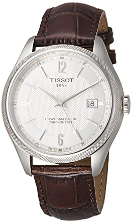 328855d01b4 Image Unavailable. Image not available for. Color  Tissot  T108.408.16.037.00 Ballade Powermatic 80 COSC Men s Watch ...