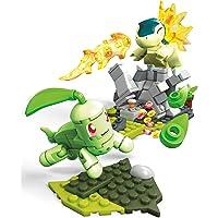 Mega Construx Pokemon Chikorita Vs. Cyndaquil Dom Building Set