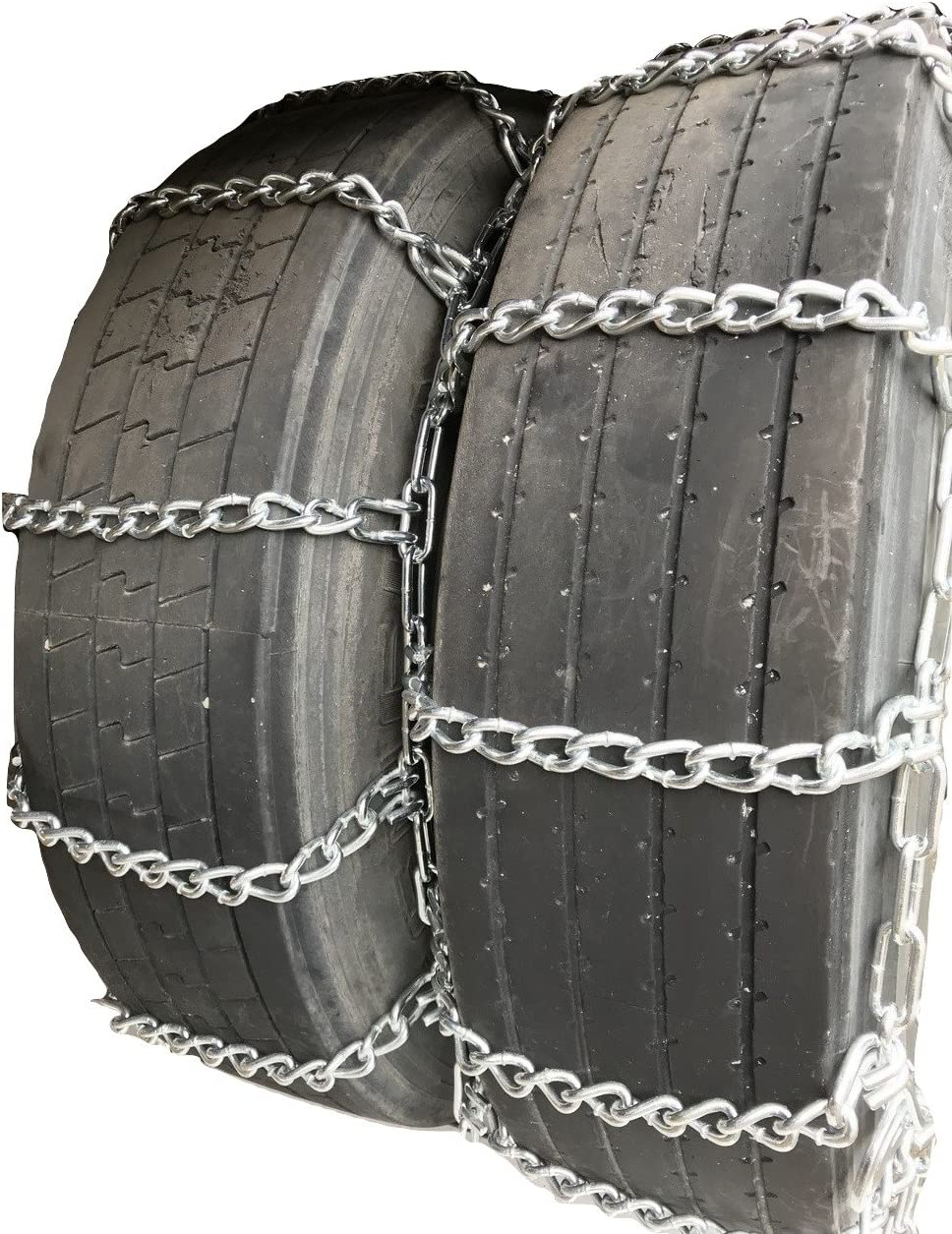 Security Chain Company QG2226 Quik Grip Light Truck Type LSH Tire Traction Chain Set of 2