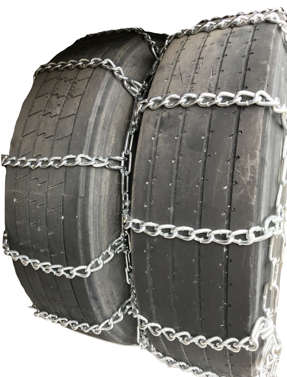 TireChain.com 4231 8.25-15TR, 255/85-16LT, 245/70-19.5 Dual Triple Truck Tire Chains with Cams, Priced per Pair
