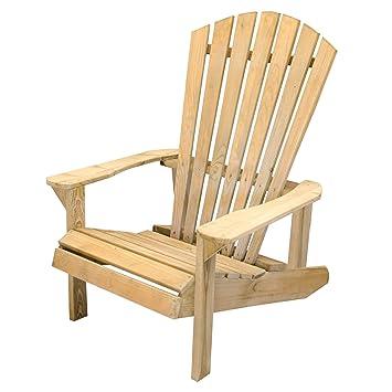 Forest Saratoga Adirondack Chair Pressure Treated Timber Wood