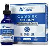 BioSource Labs Complex Diet Drops – Best Natural Weight Management Drops for Men and Women (2 fl oz.)