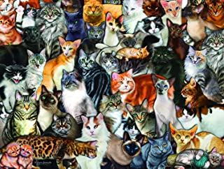 product image for Cat Collage 300 pc Jigsaw Puzzle by SunsOut