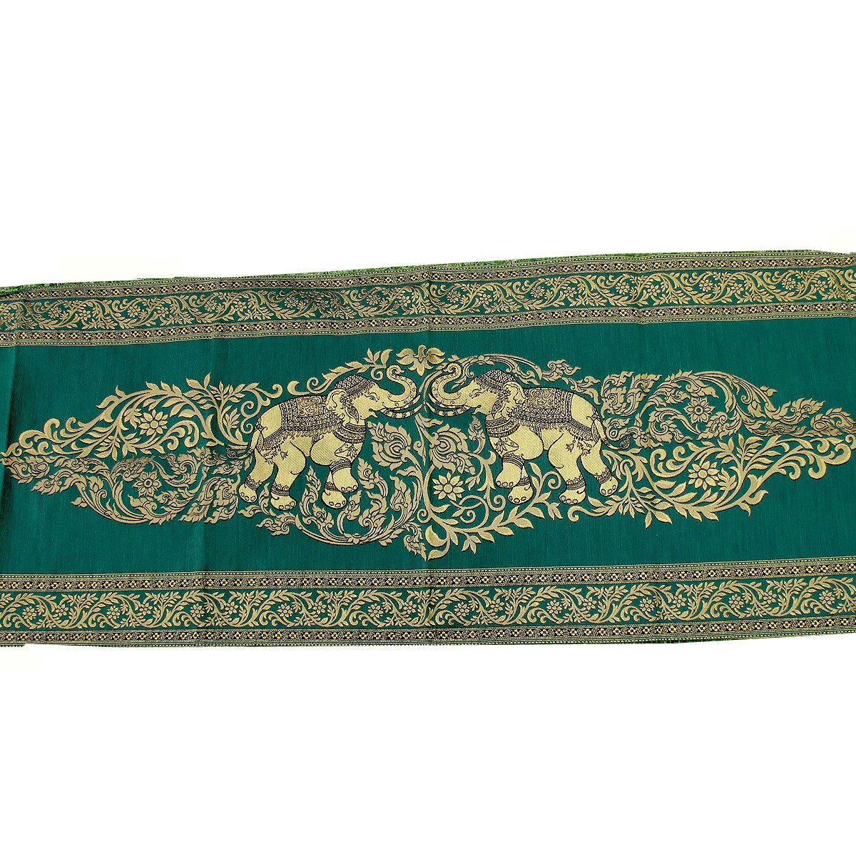Danai Presents.LOVELY ELEPHANT FOR KING SIZE BED BEAUTIFUL BED RUNNER WIDTH 19 IMCHES LONG 80 INCHES