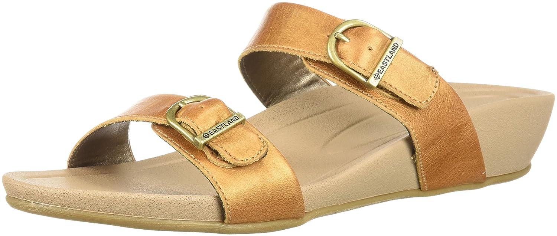 Eastland Women's Cape Ann Slide Sandal B076S2VFNL 11 B(M) US|Tan